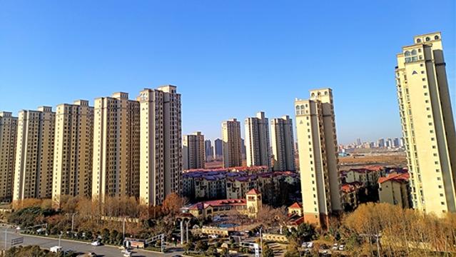 中心城區:雪后初晴風光美